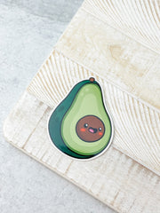Avocado Heavy-Duty Sticker by Squishable