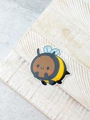 Bee Heavy-Duty Sticker by Squishable