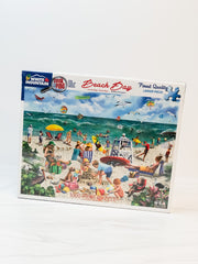 Beach Day Seek & Find 1000 Piece Jigsaw Puzzle