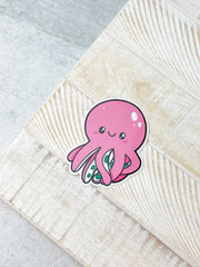 Octopus Heavy-Duty Sticker by Squishable