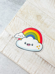 Rainbow Heavy-Duty Sticker by Squishable