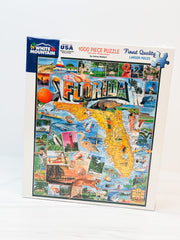 Florida 1000 Piece Jigsaw Puzzle