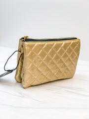 Carson Crossbody Bag by Scout Bags - Quilted Gold