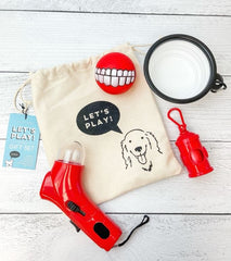 Let's Play Dog Gift Set
