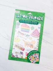 Tattoo Palooza Temporary Tattoo - Cute Doodle World