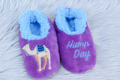 Snoozies! Slippers - Hump Day Camel