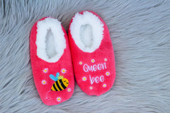 Snoozies! Slippers - Queen Bee