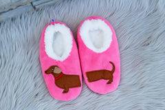 Snoozies Dog Slippers - Dachshund