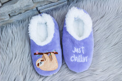 Snoozies! Slippers - Just Chillin' Sloth