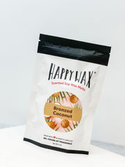 Happy Wax Soy Melts 2 Oz Bag - Bronzed Coconut