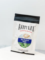 Happy Wax Soy Melts 2 Oz Bag - Sea Salt & Sage