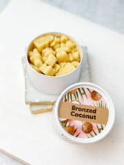 Happy Wax Soy Melts Eco Tin - Bronzed Coconut
