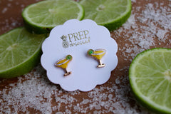 Margarita Signature Enamel Stud Earrings