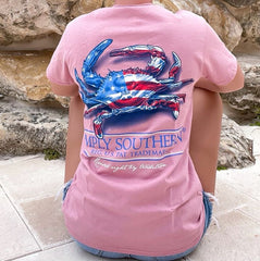 Patriotic Crab Short Sleeve by Simply Southern
