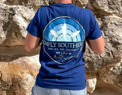 'Raised Right' Fish Short Sleeve by Simply Southern
