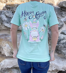 'Honey Bunny' Gnome Short Sleeve Graphic Tee
