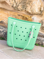 Solid Small Tote by Simply Southern - Mint