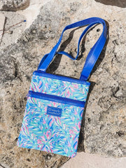 Leaves Printed Crossbody Bag by Simply Southern