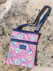Shell Printed Crossbody Bag by Simply Southern