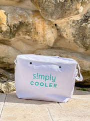 Large Cooler Bag Insert by Simply Southern - White