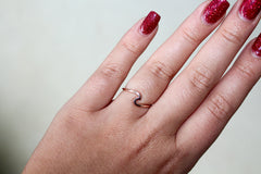 Rose Gold Wave Ring by Pura Vida