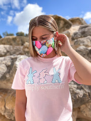 Easter Egg Adult Printed Face Mask