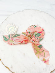 Pink Lemonade Scrunchie by Spartina