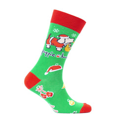 Youth 'Christmas Pup' Crew Socks by Puppie Love