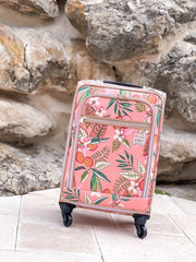 Pink Lemonade Rolling Suitcase by Spartina