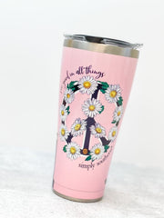 Simply Southern 'See Good In All Things' Stainless Steel 30 oz Double Wall Tumbler by Tervis (Ships in 1-2 Weeks)