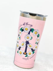 Simply Southern 'See Good In All Things' Stainless Steel 20 oz Double Wall Tumbler by Tervis (Ships in 1-2 Weeks)