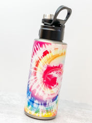 Cotton Candy Tie Dye Stainless Steel 32 oz Water Bottle by Tervis (Ships in 2-3 Weeks)