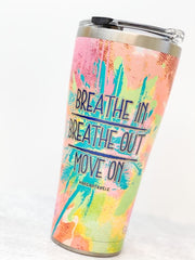 Margaritaville 'Breathe In And Out' Stainless Steel 30 oz Double Wall Tumbler by Tervis (Ships in 2-3 Weeks)