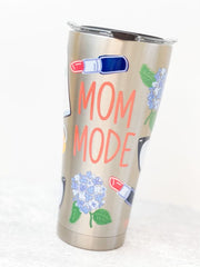 Coton Colors 'Mom Mode' Stainless Steel 30 oz Double Wall Tumbler by Tervis (Ships in 1-2 Weeks)