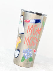 Coton Colors 'Mom Mode' Stainless Steel 20 oz Double Wall Tumbler by Tervis (Ships in 1-2 Weeks)