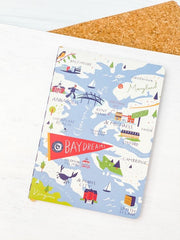 Bay Dreams Ruled Notebook by Spartina
