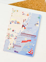 Down the Shore Ruled Notebook by Spartina