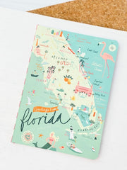 Florida Ruled Notebook by Spartina