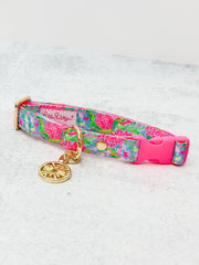 Dog Collar by Lilly Pulitzer - Bunny Business - S/M