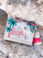 Florida Embroidered Convertible Crossbody by Spartina