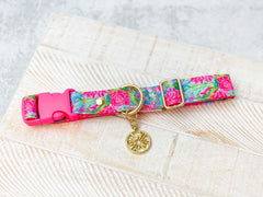 Bunny Business Dog Collar by Lilly Pulitzer - M/L