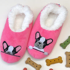 Snoozies! Slippers - Frenchie