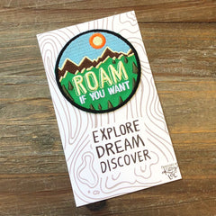 Explore Dream Discover Patch by PBK