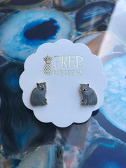 Signature Pet Enamel Studs by Prep Obsessed - Russian Blue
