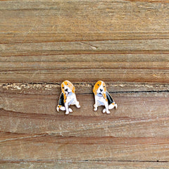 Signature Pet Enamel Studs by Prep Obsessed - Hound
