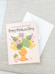 'Mom & Best Friend' Mother's Day Card