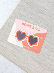 Heart Eye Sunglasses Magnet