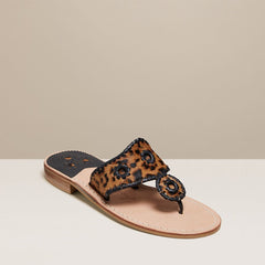 Haircalf Flat Sandals by Jack Rogers