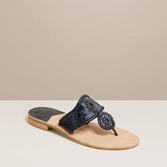 Metallic Jacks Sandal by Jack Rogers - Midnight