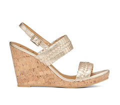 Tinsley High Wedge by Jack Rogers - Platinum